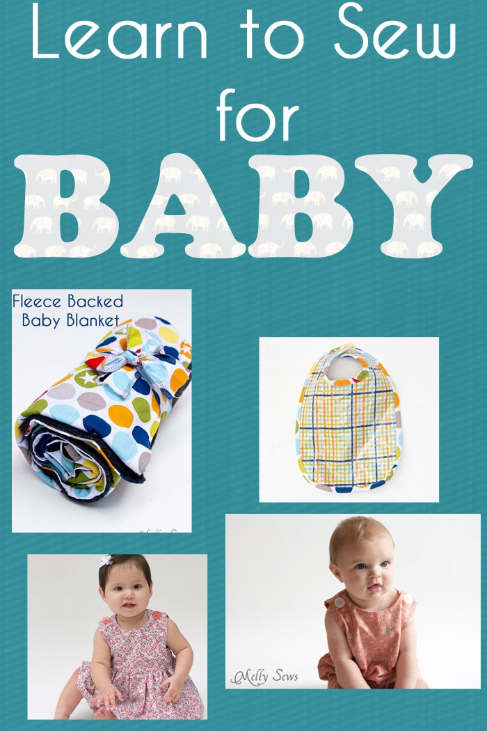 Learn to Sew for Baby with Blank Slate Patterns