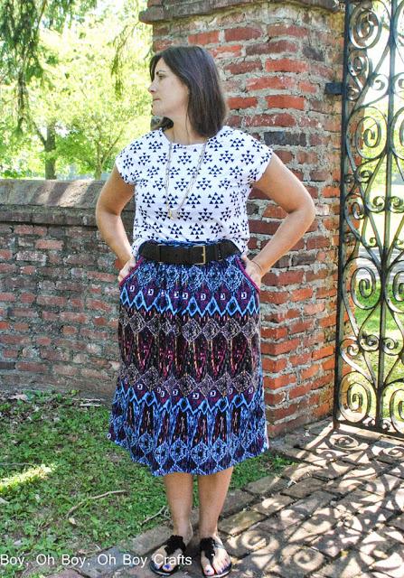 Catalina Dress by Blank Slate Patterns sewn by Boy, Oh Boy, Oh Boy!