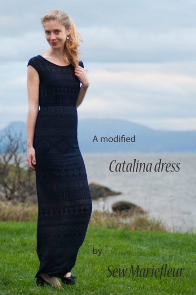 Catalina Dress by Blank Slate Patterns sewn by Sew Mariefleur