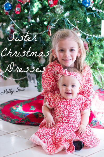 Fiesta Frock Christmas Dresses by Blank Slate Patterns