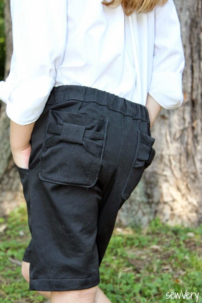 Clean Slate Pants by Blank Slate Patterns sewn by sewVery