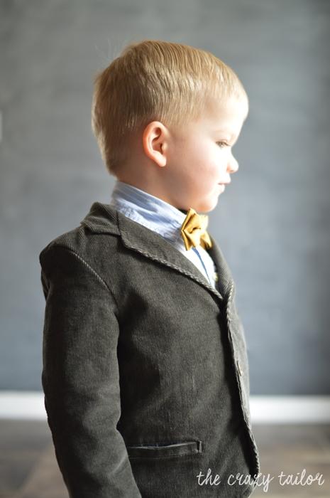 Basic Blazer by Blank Slate Patterns sewn by The Crazy Tailor