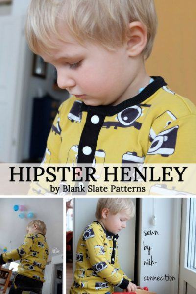 Hipster Henley By Blank Slate Patterns sewn by Nah Connection