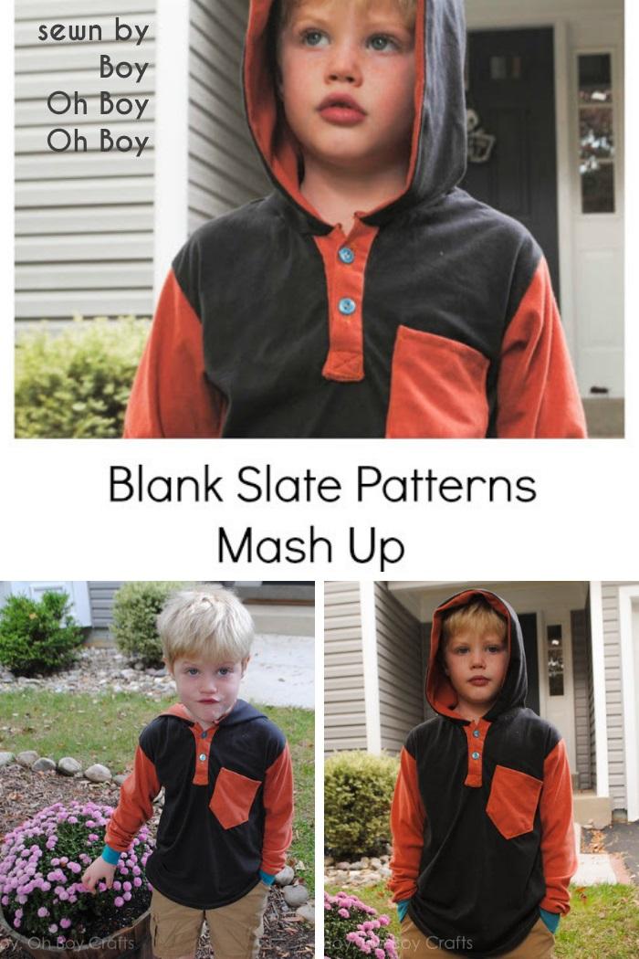 Hipster Henley by Blank Slate Patterns sewn by Boy Oh Boy Oh Boy