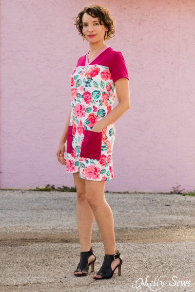 Juniper Jersey Dress by Blank Slate Patterns