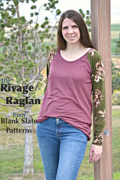 rivage raglan by mellysews