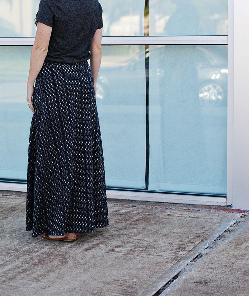 Marbella Dress by Blank Slate Patterns sewn by Dandelion Drift