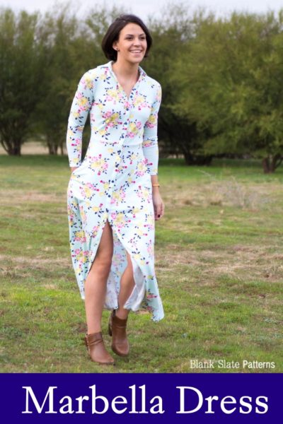 Marbella Dress by Blank Slate Patterns