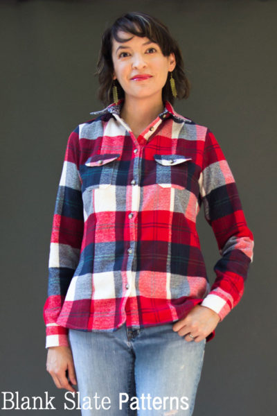 Novelista Shirt by Blank Slate Patterns