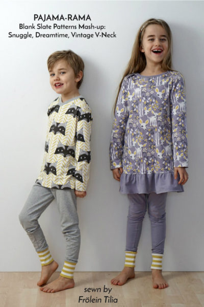 Dreamtime Jammies by Blank Slate Patterns sewn by Frolein Tilia