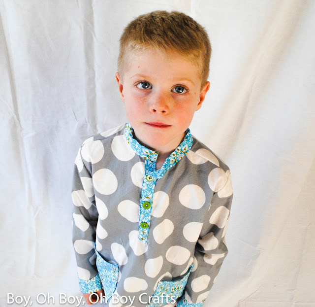 Pocket PJs by Blank Slate Patterns sewn by Boy, Oh Boy, Oh Boy!
