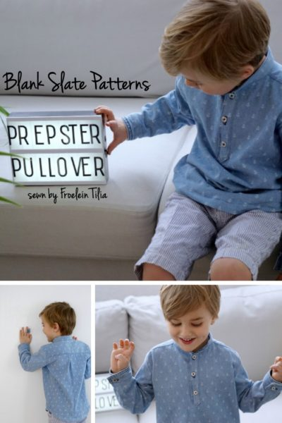 Prepster Pullover by Blank Slate Patterns sewn by Frolein Tilia