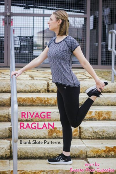 Rivage Raglan by Blank Slate Patterns sewn by Sweeter Than Cupcakes