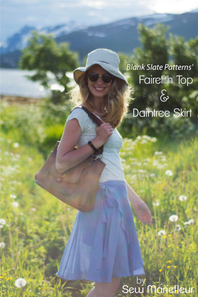 Daintree Skirt and Fairelith Top by Blank Slate Patterns sewn by Sew Mariefleur