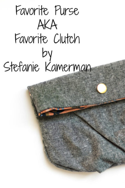 Favorite Purse by Blank Slate Patterns sewn by Stefanie Kamerman