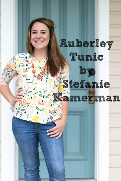 Auberley Tunic by Blank Slate Patterns sewn by Stefanie Kamerman