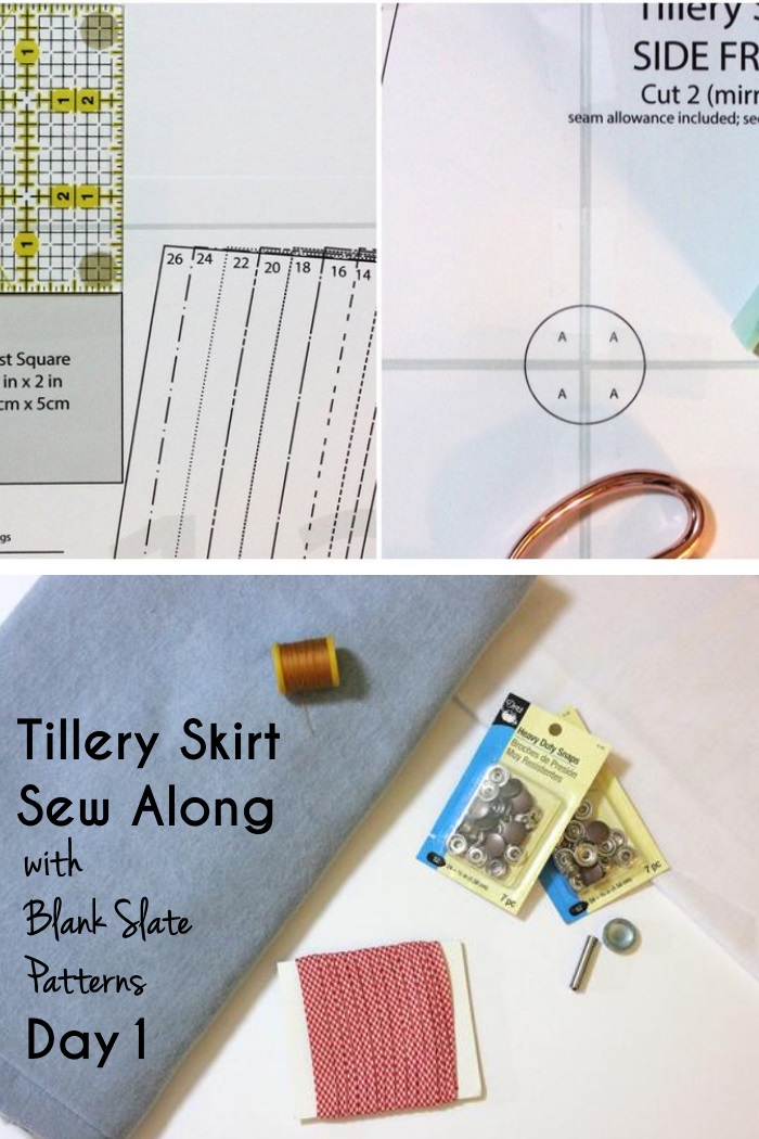 Tillery Sew Along Day 1 by Blank Slate Patterns