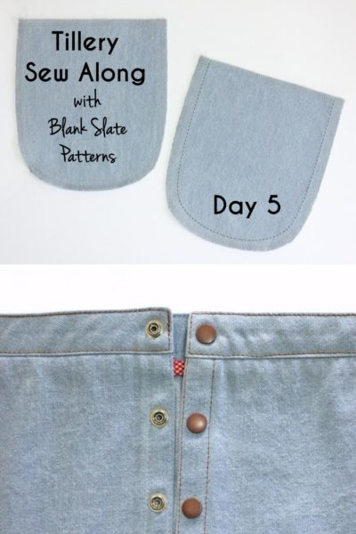 Tillery Sew Along Day 5 with Blank Slate Patterns