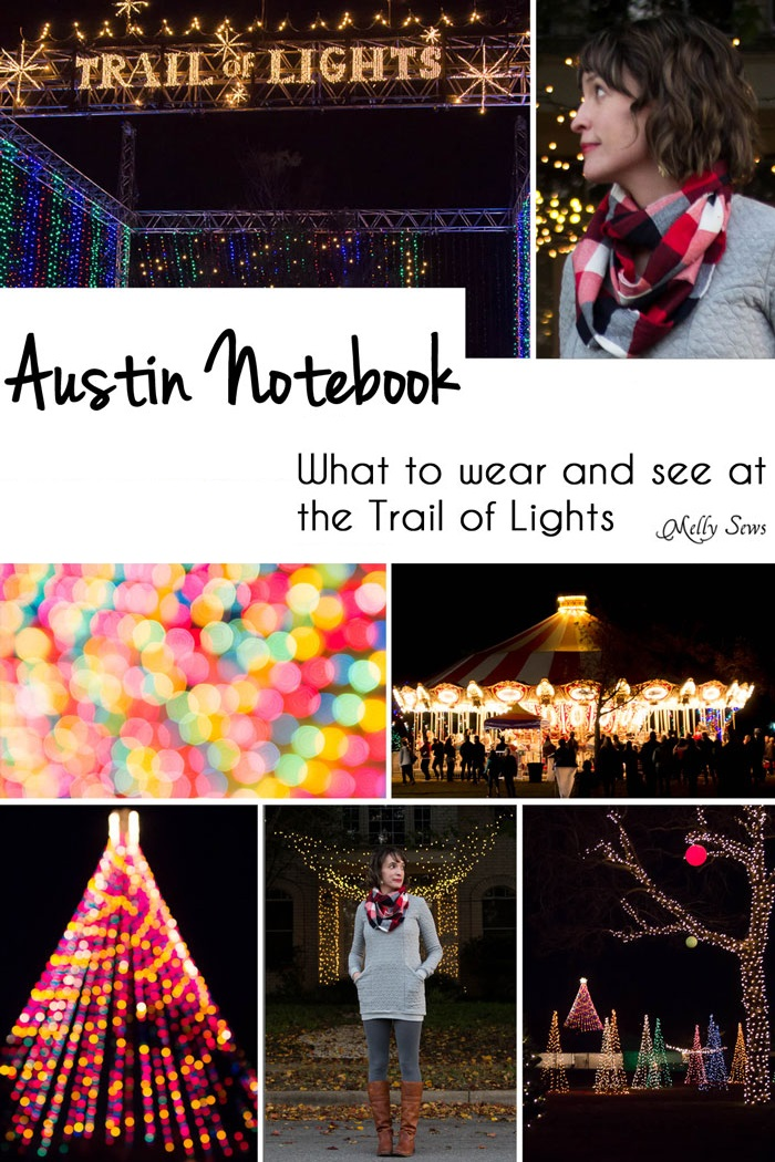 Austin Notebook - The Trail of Lights