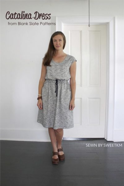 Catalina Dress by Blank Slate Patterns sewn by SweetKM