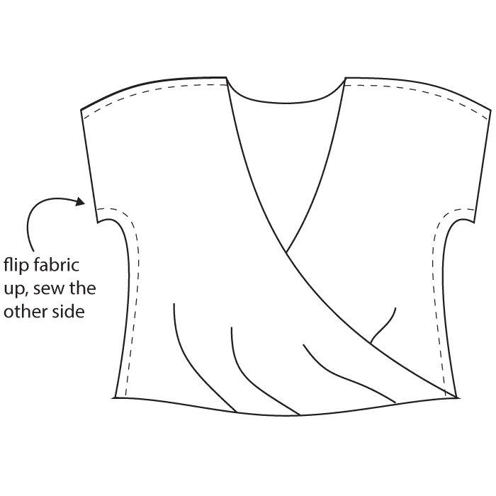 Drapey Twisted Blanc by Blank Slate Patterns with Dixie DIY