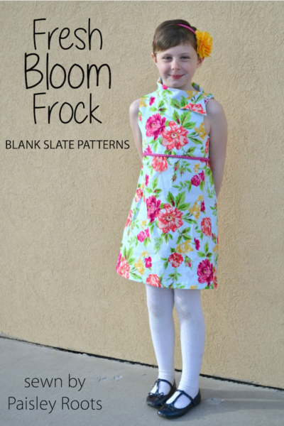 Fresh Bloom Frock by Blank Slate Patterns sewn by Paisley Roots
