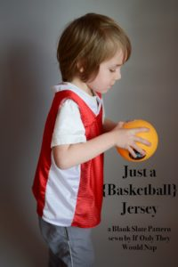 Just a Jersey by Blank Slate Patterns sewn by If Only They Would Nap