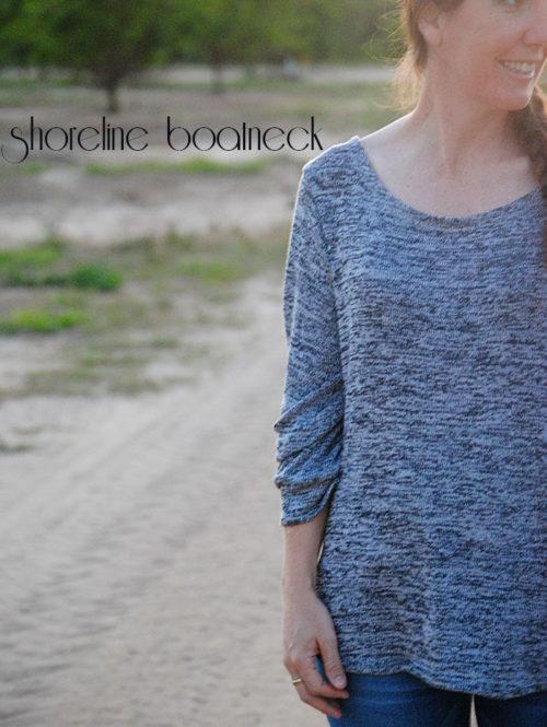Shoreline Boatneck by Blank Slate Patterns sewn by Dandelion Drift