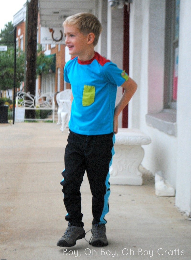 Super Skinny Pants by Blank Slate Patterns sewn by Boy, Oh Boy, Oh Boy