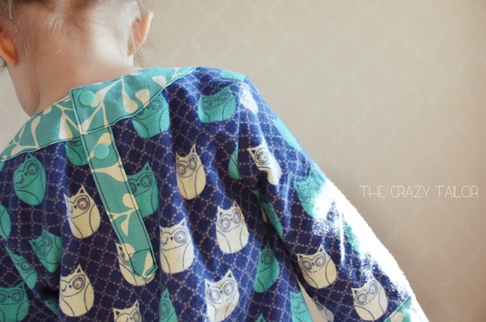 Pocket PJs by Blank Slate Patterns sewn by The Crazy Tailor