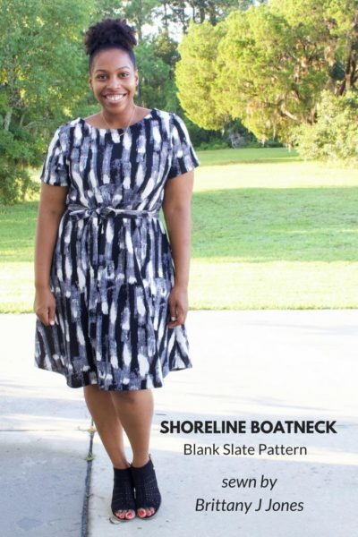 Shoreline Boatneck Dress By Brittany Jones